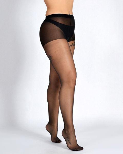 Imagen de Panty transparente vely D15 Plus de Golden Lady - Pack de 2 pares
