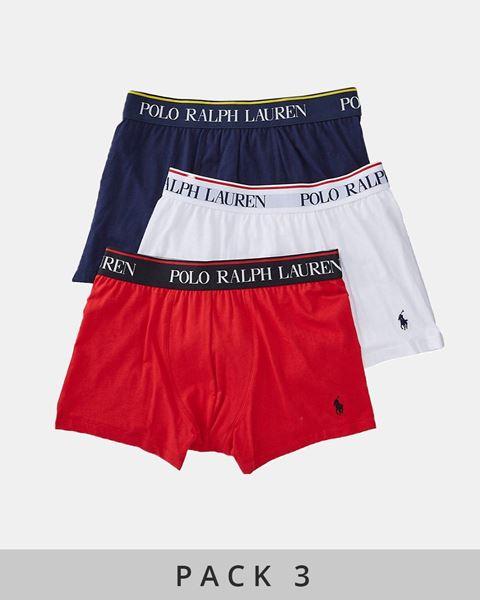 Imagen de Calzoncillos boxer de Ralph Lauren - Pack de 3