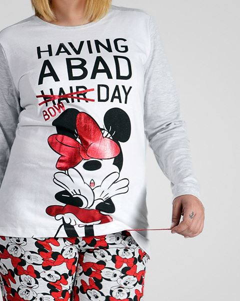 Imagen de Pijama Minnie Having a bad bow day de Admas