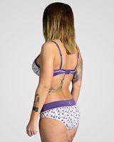 Imagen de Conjunto sujetador, culotte y tanga Arrows de Xhazel
