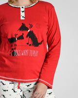 Imagen de Pijama Dogs Want to Play de CUE