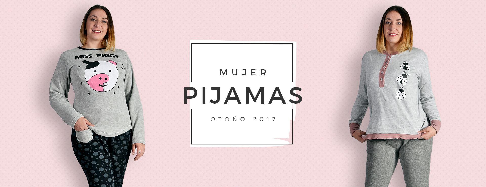 Pijamas Mujer Colección Otoño - Invierno 2018