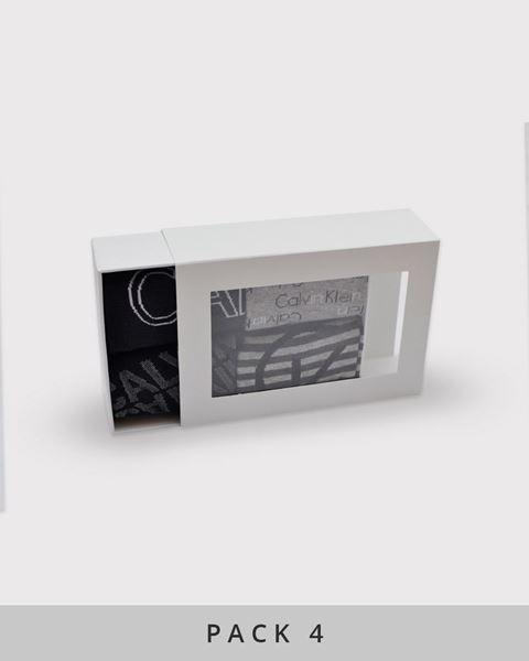 Imagen de Calcetines caja regalo de Calvin Klein - Pack de 4