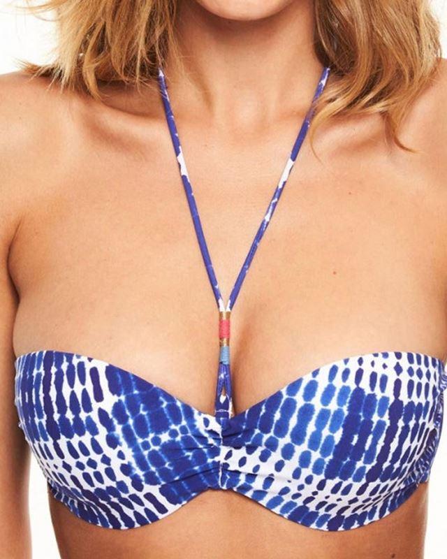 Imagen de Bikini dos piezas sin tirantes Hippie Chic de Chantelle