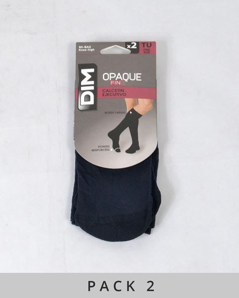 Imagen de Calcetines ejecutivos de DIM- Pack de 2