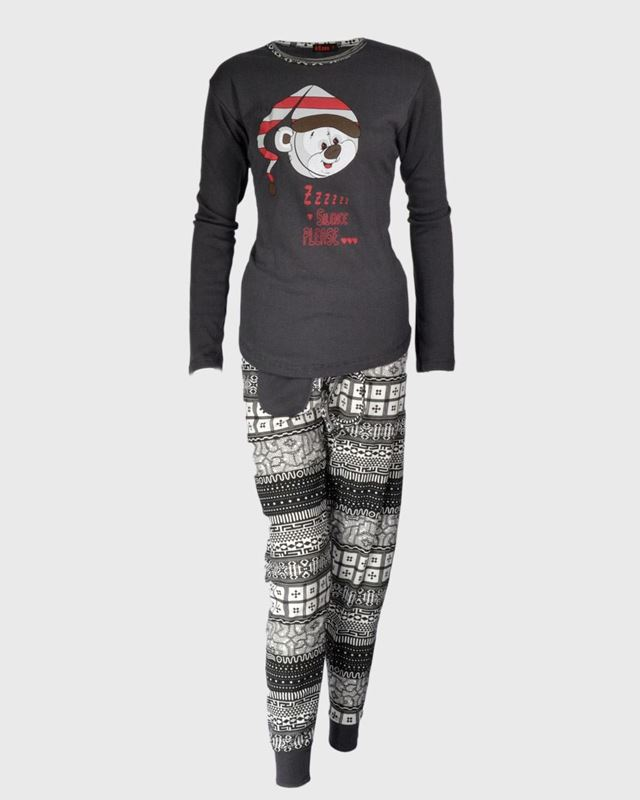Imagen de Pijama Oso con gorro de Intimalia