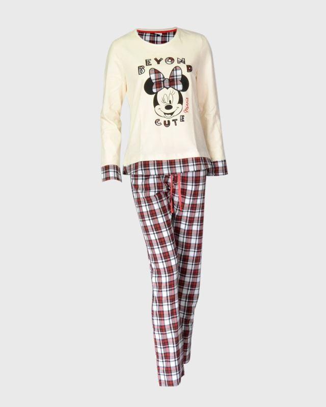 Imagen de Pijama Minnie cuadros de Admas