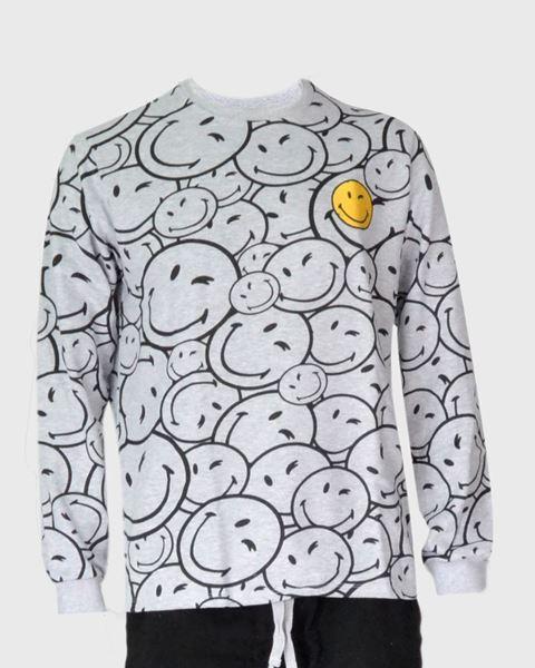Imagen de Pijama invierno Smiley de Admas