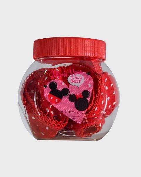 Imagen de Braguita en caja regalo Mickey y Minnie de Admas