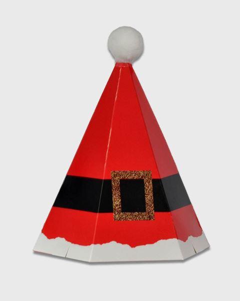 Imagen de Caja regalo con boxer Papa Noel de Admas
