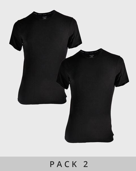 Imagen de Camiseta interior manga corta Calvin Klein - Pack 2