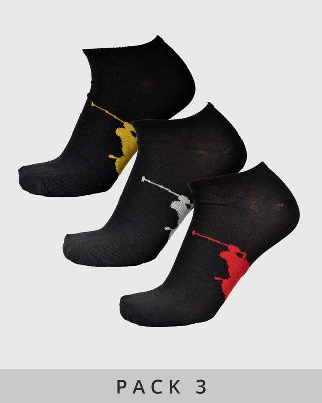 Imagen de Calcetines bajos de Ralph Lauren - Pack de 3