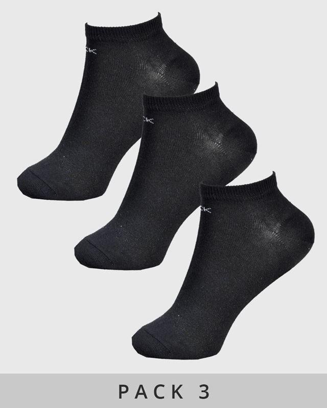 Imagen de Calcetines tobilleros negros de Calvin Klein - Pack de 3