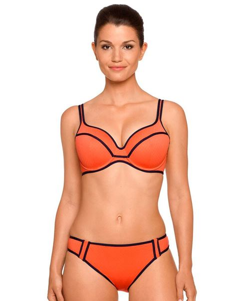 Imagen de Bikini Preformado de Primadonna Swim Naranja