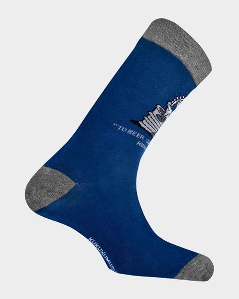Imagen de Calcetines de hombre Shakesbeere de Kukuxumusu