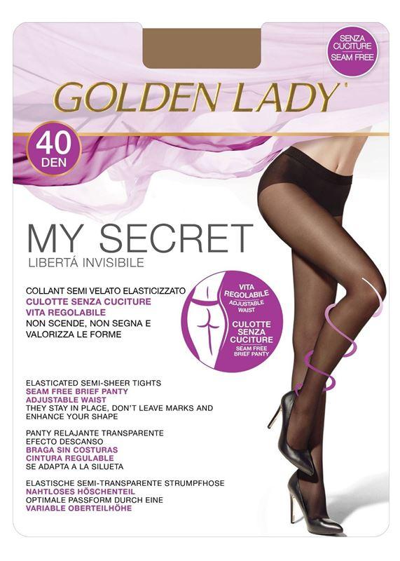 Imagen de Panty sin costuras My Secret 40 de Golden Lady
