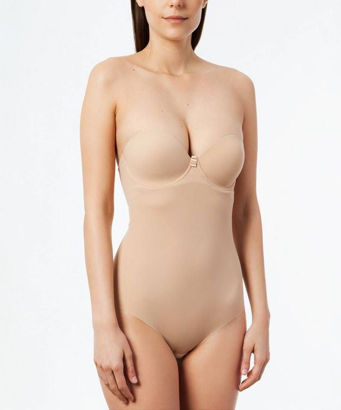 Imagen de Body sin tirantes novia Second Skin de Ivette