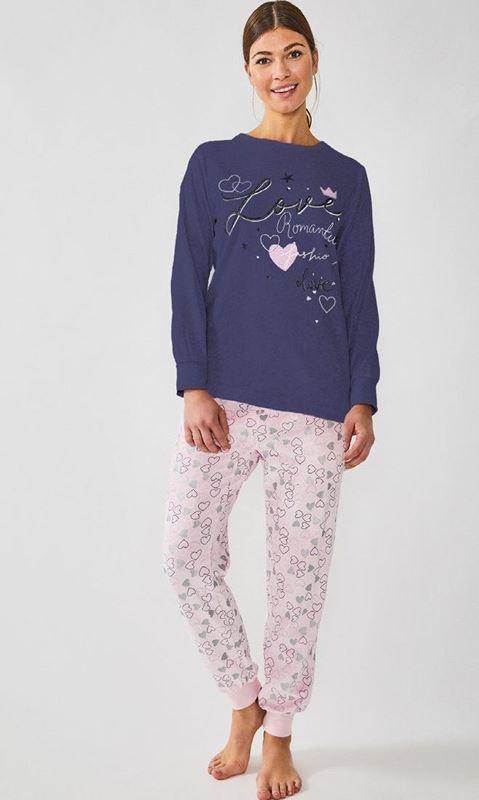 Imagen de Pijama largo Love Romantic 8951 de DIASSI