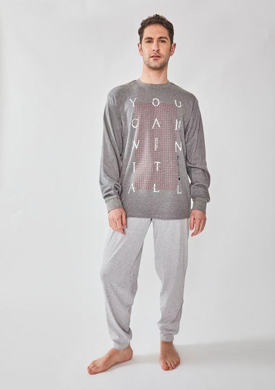 Imagen de Pijama largo You Can 8921 de DIASSI